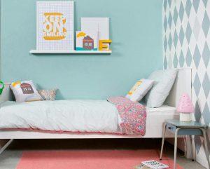 Papel geometrico, ultima tendencia en dormitorios juveniles