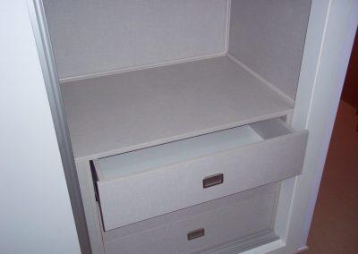 Interior de armario empotrado + puertas correderas