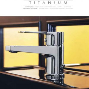 Griferias Titanium elegantes y de gran diseño
