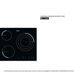 Vitro Zanussi y otros accesorios para equipar tu cocina moderna