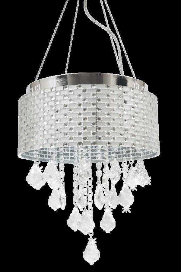 Lamparas elegantes para decorar al mejor precio en Torrevieja, Alicante. Lamparas lujosas en cristal y acero.
