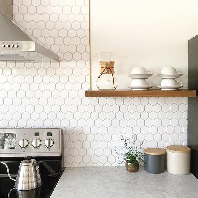 Azulejos geometricos para cocinas y baños, la ultima tendencia en reformas de suelos y paredes