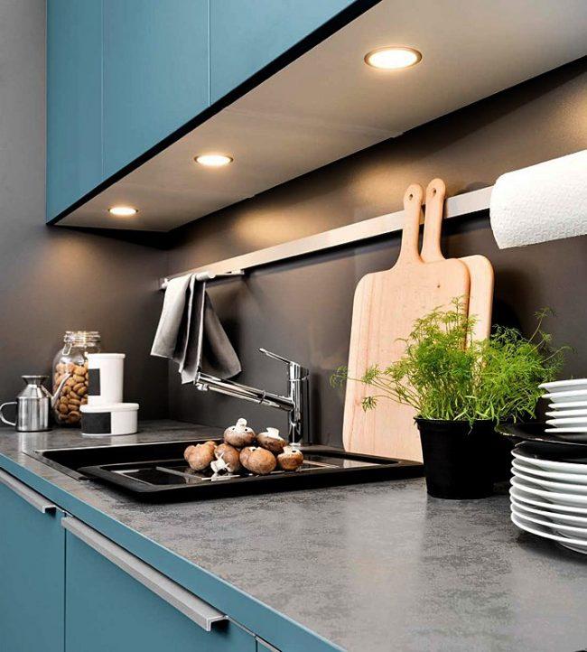 Iluminación de cocinas segun las tendecias en decoracion 2019