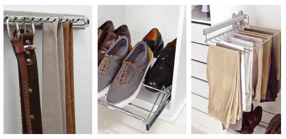 Accesorios imprescindibles para tus armarios a medida