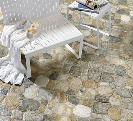 Revestimientos de suelos con piedra natural para su uso en terrazas