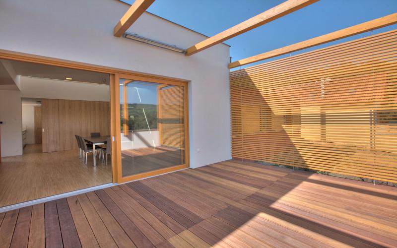 Tarimas de madera para exteriores
