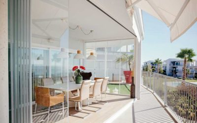 Cerramientos acristalados para terrazas y balcones