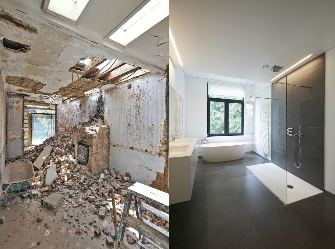 Reformas de baños (antes y despues) y precios aproximados para renovar por completo aseos y baños principales