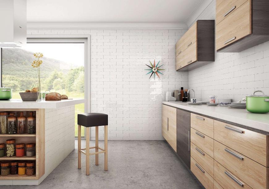 Materiales para reformas de cocinas duraderas, modernas y cómodas