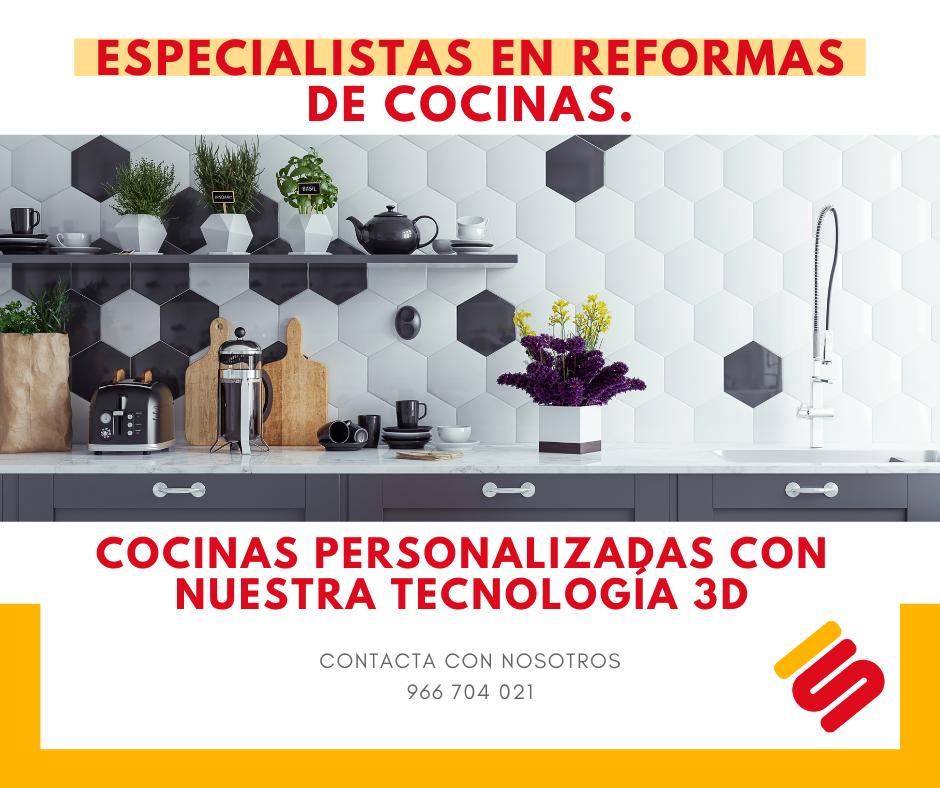 Especialistas en reformas de cocinas en Torrevieja - Alicante