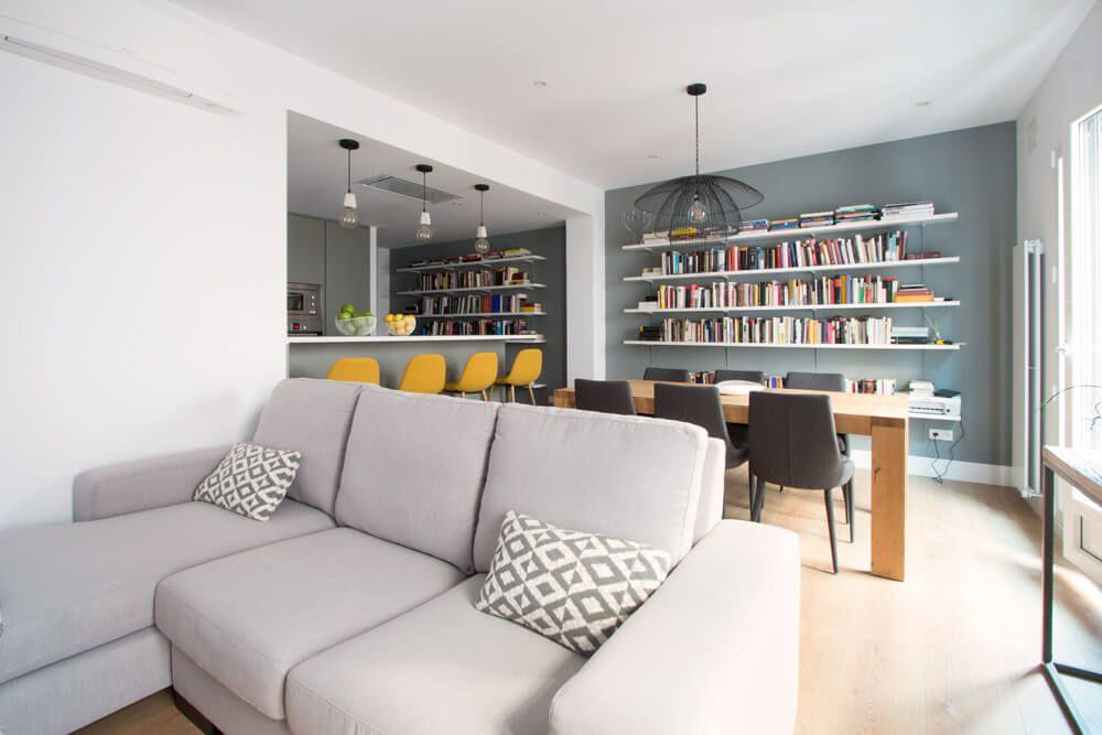 Open Concept o estilo abierto en interiores modernos con mucho estilo, la reforma que buscas